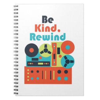 Be Kind Rewind Notebooks
