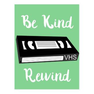 Be Kind Rewind Postcard! Postcard