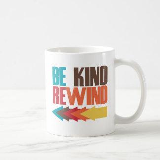 Be Kind Rewind retro 80s humor Coffee Mug