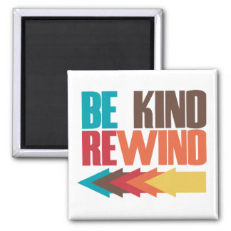 Be Kind Rewind retro 80s humor Magnets