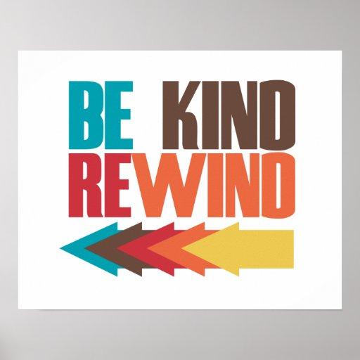 Be Kind Rewind retro 80s humor Poster