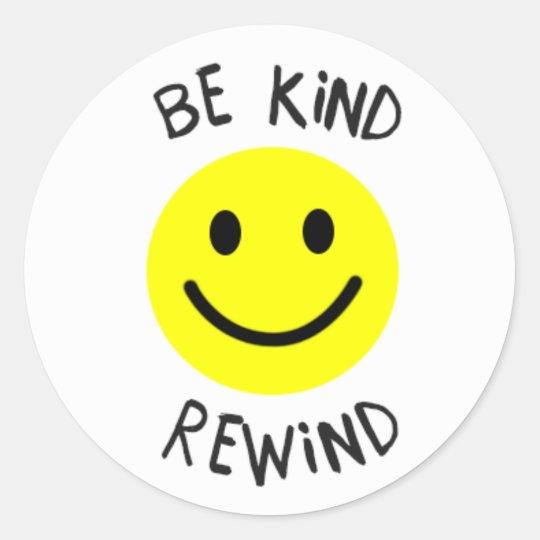 Be Kind Rewind Sticker Zazzle