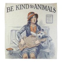 Be Kind To Animals bandana