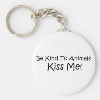 Be Kind To Animals Key Chains