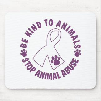 Be Kind To Animals Mouse Pad