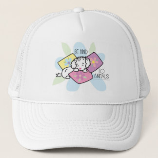 be-kind-to-animals- Rocky Trucker Hat
