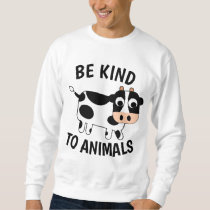 BE KIND TO ANIMALS T-shirts (Cow) Vegetarian Tees