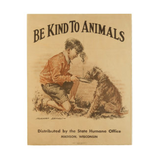 Be Kind to Animals Vintage Poster 1932