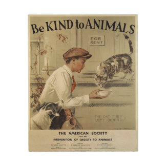 Be Kind to Animals Vintage Poster 1939