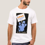 Be Kind To Books Club 1940 WPA T-Shirt