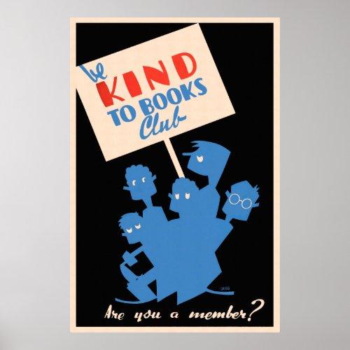 Be Kind to Books Club - WPA