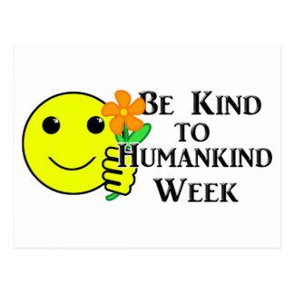 Be Kind to Humankind Week Postcard