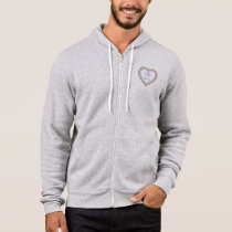 Be Kind to One Another Colorful Heart Hoodie