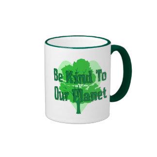 Be Kind To Our Planet Mug