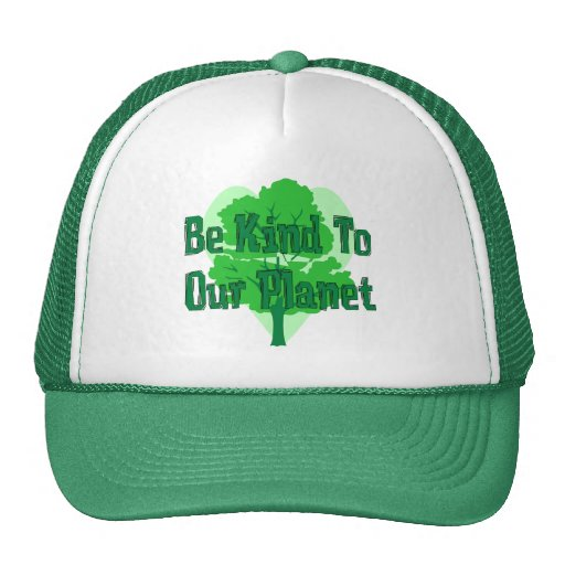Be Kind To Our Planet Trucker Hat