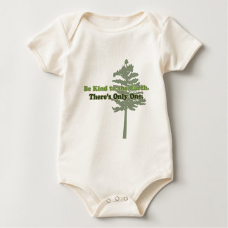 Be Kind to the Earth Baby Bodysuit