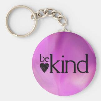 Be Kind - virtue key chain