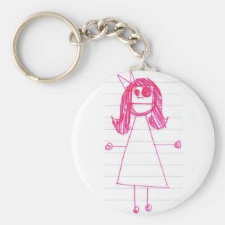 """Be Like June"" Notebook Series Keychain"
