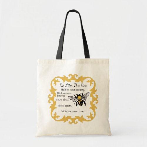 Be Like the Bee Tote