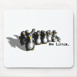 Be Linux Mouse Pad