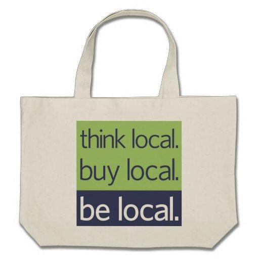Be Local Tote Bag