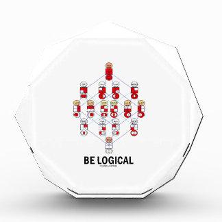 Be Logical (Logic Tesseract Hasse Diagram) Award