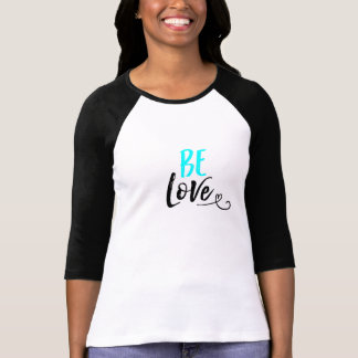 BE Love Baseball Tess T-Shirt