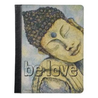 Be Love Buddha Watercolor Art iPad Kindle Cover