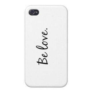 Be love iPhone 4 case