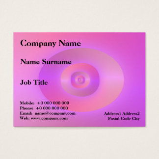 Be Loved Chubby Business Card