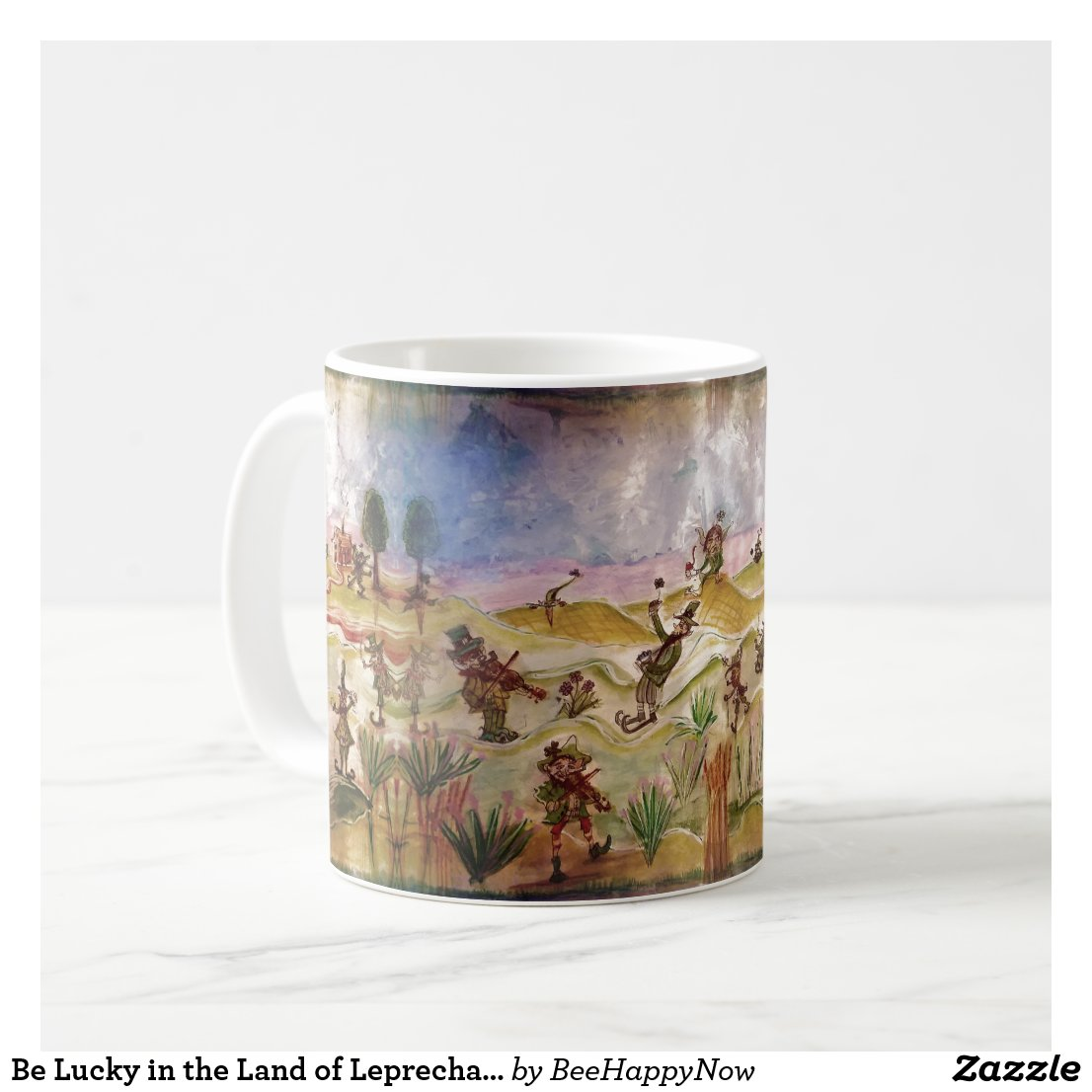 Be Lucky in the Land of Leprechauns Mug