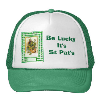 Be Lucky It's  St Pat's Hats