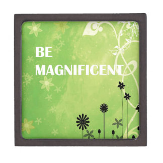 Be Magnificent Jewelry Box