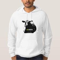 Be Marin. Cow Hoodie