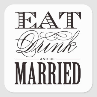 Be Married | Favor Stickers