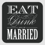 & BE MARRIED   FAVOR STICKERS