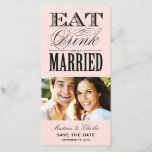 """&amp; BE MARRIED   SAVE THE DATE ANNOUNCEMENT<br><div class=""""desc""""></div>"""