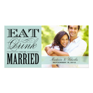 & BE MARRIED   SAVE THE DATE ANNOUNCEMENT PHOTO CARDS