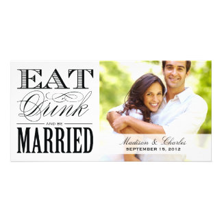 BE MARRIED SAVE THE DATE ANNOUNCEMENT PHOTO CARDS