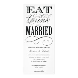 & BE MARRIED | WEDDING INVITATION STYLE 2