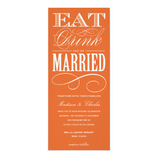 & BE MARRIED   WEDDING INVITATION STYLE 2