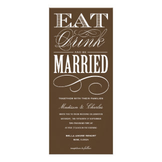 BE MARRIED WEDDING INVITATION STYLE 2