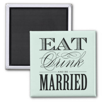 & BE MARRIED | WEDDING MAGNET