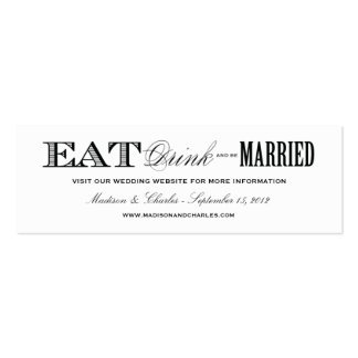 & BE MARRIED | WEDDING WEBSITE CARDS