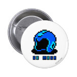 Be Mega 2 Inch Round Button