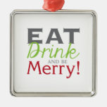 Be Merry! Christmas Ornament