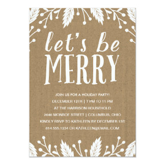 Holiday Dinner Party Invitations & Announcements | Zazzle
