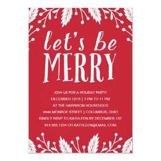 Christmas Invitations & Party Invites