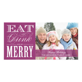 BE MERRY | HOLIDAY PHOTO CARD