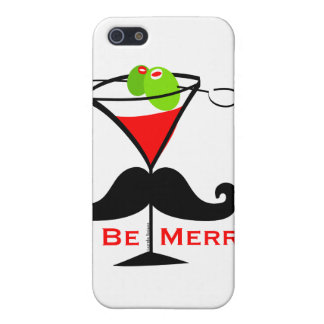 Be Merry Mustache Cover For iPhone SE/5/5s